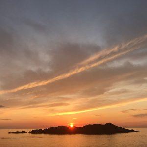 tramonto Isola Rossa