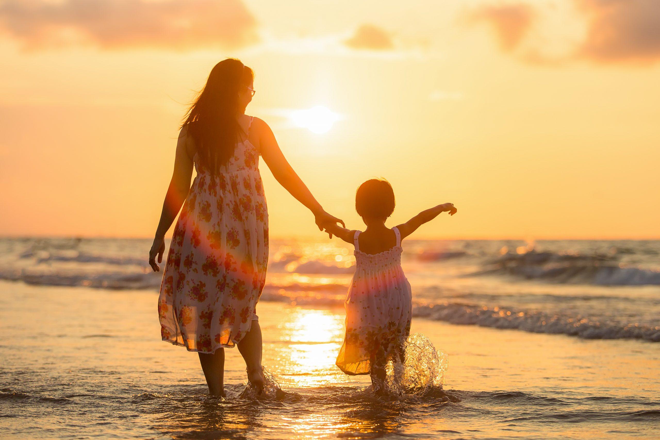 Vacanze in famiglia mamma